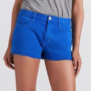 NWT Current/Elliott Nautical Blue Boyfriend Shorts